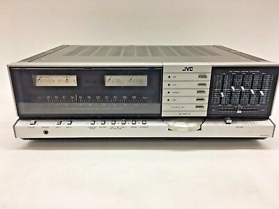 JVC JR-S301 Vintage DC-Integreted Stereo Receiver - S.E.A. Equalizer