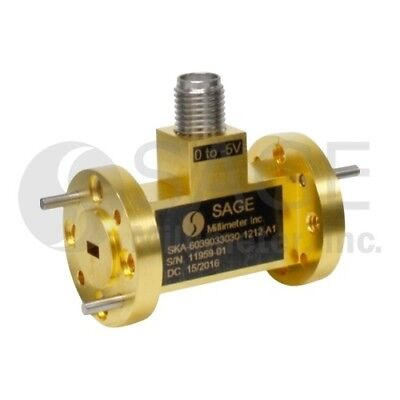 Sage SKA-6039033030-1212-A1 Waveguide 60 to 90 GHz, 30 dB Attenuation