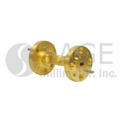 Sage SWB-12090-TB-1, WR-12 Waveguide Twist, E Band, 60 GHz to 90 GHz, 90 Degrees