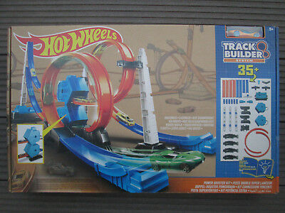 Hot Wheels Doppel-Booster Powerbahn Power Booster Kit Dgd30 Neu