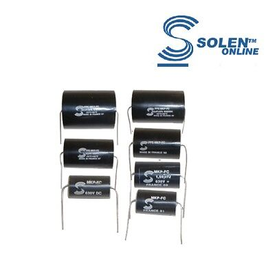"Solen ""Fast"" Capacitor, 630V, Metalized Polypropylene (Various values)"