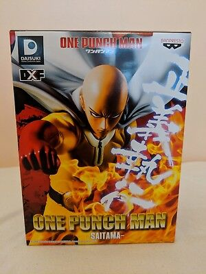 One Punch Man Saitama DXF Banpresto Authentic Anime Figure OPM from Japan