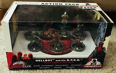 horrorclix hellboy and the B.P.R.D.seven figure action pack