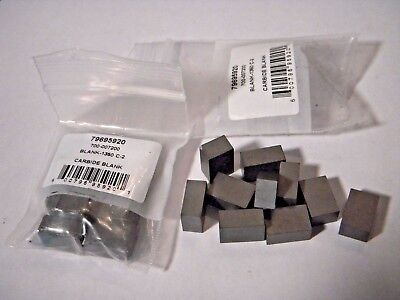20 Pcs Brand New Carbide Blank Inserts 1/4 x 3/8 x 9/16 C2   Free Shipping
