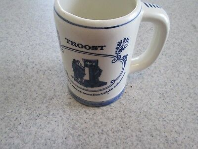 Vintage Delfts Troost Hollands Most Comfortable Tobacco Stein