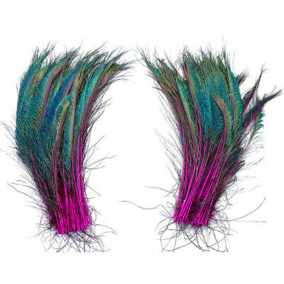10pcs Natural Peacock Feather 30-35 cm/12-14 inches