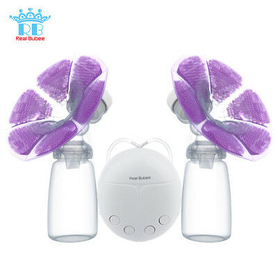 Powerful Double Intelligent USB Electric Breast Pump with Milk Bottle Pad