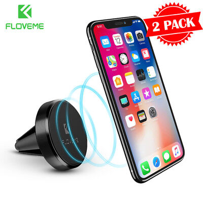 reputable site ead96 86dc1 CAR MOUNT PHONE Holder Dock, Genuine Spigen Air Vent Magnetic for iPhone/  Galaxy