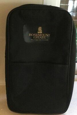 Rosemount Estate Wine Bottle Cooler Bag Brand New Never Used. Holds 2 Bottles