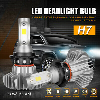 H7 LED Headlight Conversion Kit 1300W 195000LM High Low Beam Replace Halogen