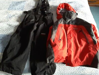 Kids Ski Suit Pants and Jacket Size M 5-7 years