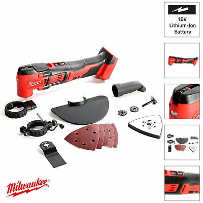 Milwaukee M18BMT-0 18V Compact Oscillating Multi-Tool Body Only Bare Unit