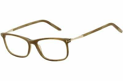 1cddf98304569 AUTHENTIC TOM FORD 5398 - 062 Eyeglasses Brown Horn  NEW  55mm ...