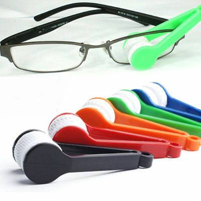 Mini Lens Microfibre Cleaner Glasses Spectacles Eyeglasses Cleaning Brush Tool