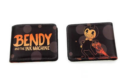 Bendy And The Ink Machine Bi Fold Wallet New!