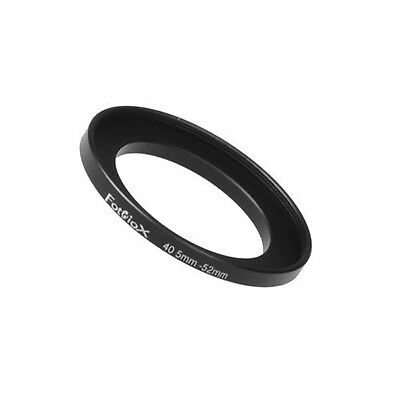 Fotodiox Metal Step Up Ring Filter Adapter, Anodized Black Aluminum 40.5mm-52mm,