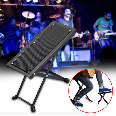 Height-adjustable Folding Guitar Foot Stool Rest Pedal Classical Pedal Anti-slip