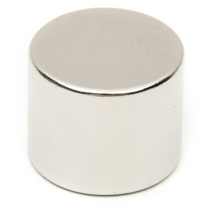 N52 25x20mm Strong Fridge Magnets Experiment Neodymium Round Rare Earth Powerful