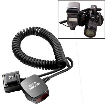 Viltrox SC-30 Off-Camera Shoe 0.8m Flash Sync Extension Cord for Nikon Camera