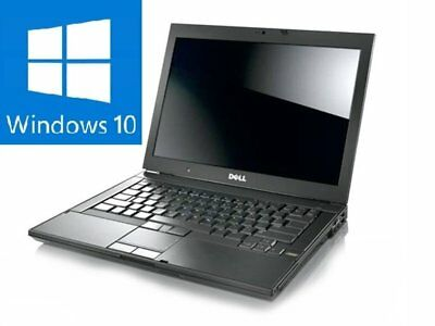Dell  E5500 Laptop 2gb 120gb Hdd core 2 duo 2.0ghz Qwerty Keyboard Windows 10