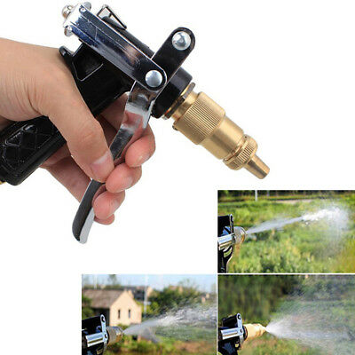 High Pressure Water Gun Spray Nozzle Car Garden Washing Extension Attachment AU