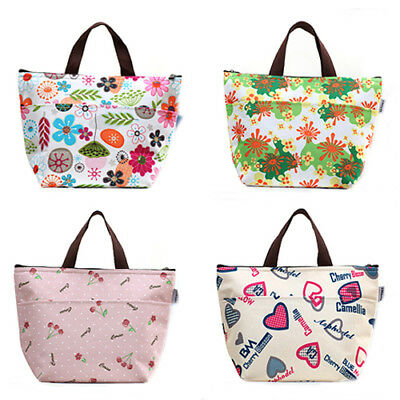 FT- Portable Insulated Thermal Cooler Lunch Tote Picnic Storage Bag Pouch Dreame