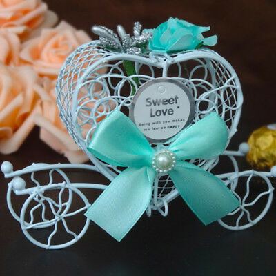 Cinderella Carriage Candy Chocolate Boxes Wedding Party Home Favour Decor