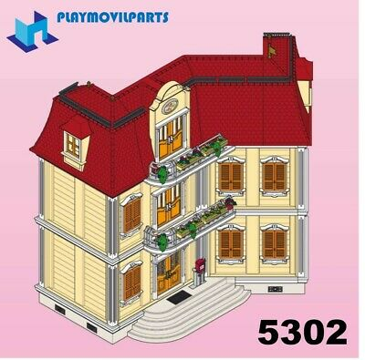 PLAYMOBIL 5302 DOLLHOUSE <>< max UK post £1.98 per INVOICE><> multi