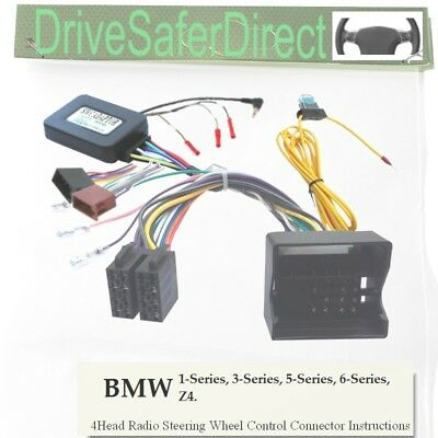 SWC-0453-03J Stalk Control,ISO-JOIN for Joying Radio/BMW 5-Series E60,E61