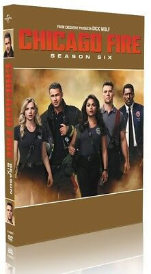 Chicago Fire Season 6 (Six) DVD Box Set Brand New & Sealed Fast & Quick Post