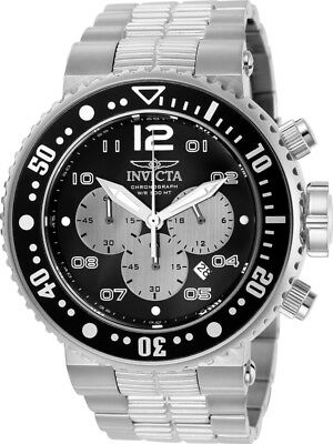 Uesd Invicta Pro Diver 25073 Silver Stainless Steel Men's Japanese Quartz Watch