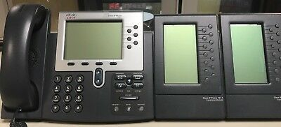 CISCO MODEL 7961 WITH 2 7914 SIDE ADD ONs
