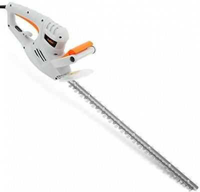 VonHaus 550W Electric Hedge Trimmer/Cutter With 60cm Blade + Blade Cover And
