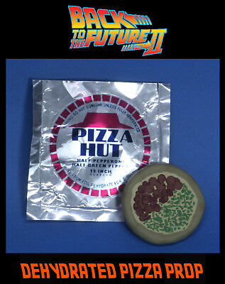 Back to the Future II Pizza and Wrapp Prop