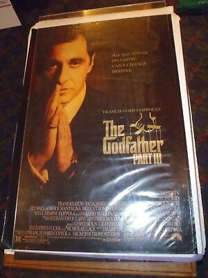 Original 1 sheet  Movie Theater Posters The Godfather III & Frankie and Johnny