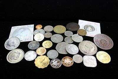 South/Central Americas grab bag 30 assorted coins   lot H907