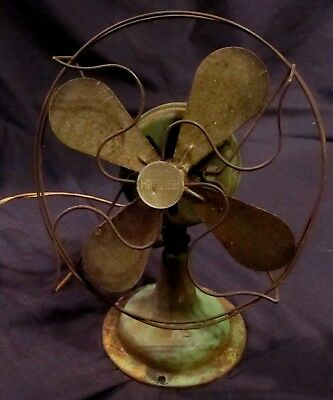 EXTREMELY RARE! Antique HANDY FAN Alternating Current Fan~Chicago Electric MFG