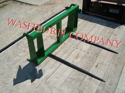 "Hay Spear fits John Deere 840, 2 Spears 39"" Long Spikes"
