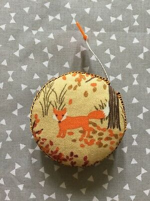 Fox And Deer Retractable Tape Measure Sewing Knitting Quilting