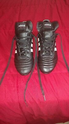 f856f9d60ace38 Lightly Used Adidas World Cup Black SG Soft Ground Soccer Cleats Shoes size  11.5