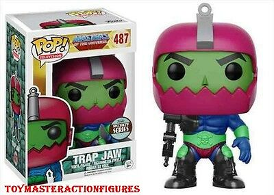 FUNKO POP TV Masters Of The Universe TRAP JAW #487 Specialty Series IN STOCK