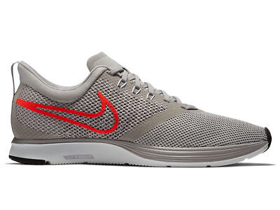 1ac71d72dfa82c Nike Zoom Strike Mens Running Shoes Atmosphere Grey Total Crimson AJ0189  006 Fly