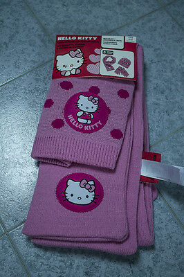 Sciarpa E Guanti Hello Kitty