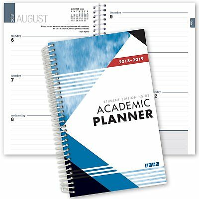 2018-2019 Student Planner for High School / College