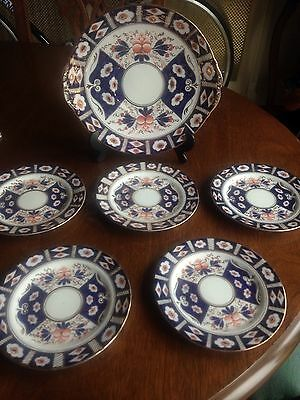 Sutherland China Bread And Butter Plate And 5 Tea Plates