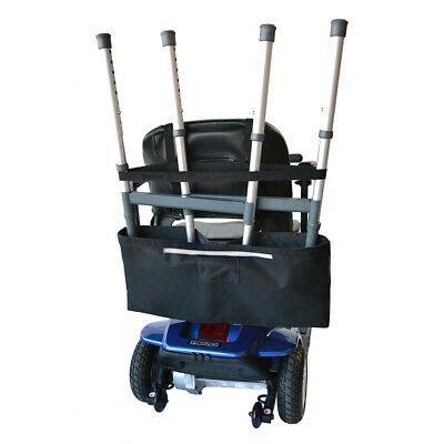 Universal Walker Holder for Mobility Scooters and Wheelchairs by Diestco