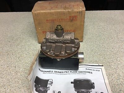 FS1  Mc Donnell & Miller Flow Switch / Solenoid Valve