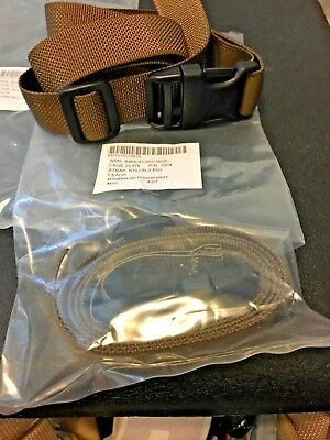 2 -USMC LEG STRAP OK3s  COYOTE NIP ORIGINAL ISSUE buying 2 straps nip