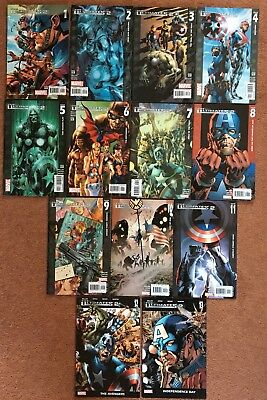 The Ultimates 2 #1-13 Complete Series (2005 Marvel Ultimate) 13 Issue Lot