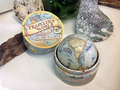 Travellers World Models Globe In A Box Educational/children's/geography/maritime